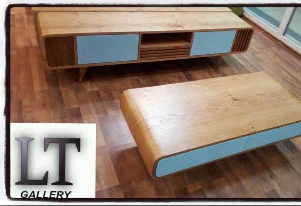 סט (מזנון+שולחן) דגם רדיו